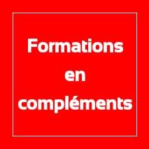 Formations en compléments